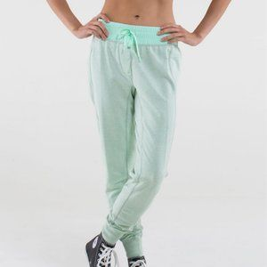 Lululemon Happy Yin Year Sweat Pant in Fresh Teal